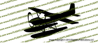 Cessna 185 Floats ACTION Vinyl Die-Cut Sticker / Decal VSAC185F