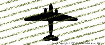 D-Day Airborne Douglas DC-3 C-47 Skytrain Dakota TOP Vinyl Die-Cut Sticker / Decal VSTC471
