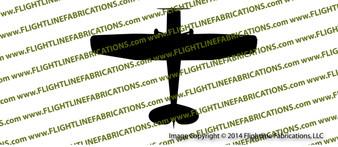 Cessna L-19 O-1 Bird Dog Top  Vinyl Die-Cut Sticker / Decal VSTL19