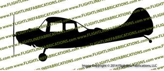 Cessna L-19 O-1 Bird Dog Profile Vinyl Die-Cut Sticker / Decal VSPL19
