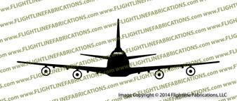 747-200 E4b Airborne Command Post Nightwatch Vinyl Die-Cut Sticker / Decal VSPE4b