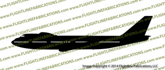 747-200 E4b Airborne Command Post Nightwatch PROFILE Vinyl Die-Cut Sticker / Decal VSPE4b2