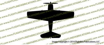 F6F Hellcat Carrier-Based Fighter TOP Vinyl Die-Cut Sticker / Decal VST6F