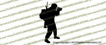 Combat Photographer Vinyl Die-Cut Sticker / Decal VSTCP1