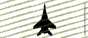 Mig-29 Fulcrum Fighter Jet TOP Vinyl Die-Cut Sticker / Decal VSTMIG29