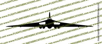 Avro Vulcan B2 Hawker Siddeley Vulcan FRONT Vinyl Die-Cut Sticker / Decal VSFAVRO