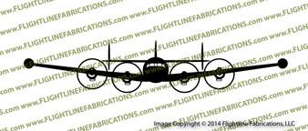 Lockheed Constellation EC-121 FRONT v2 Vinyl Die-Cut Sticker / Decal VSFEC121V2