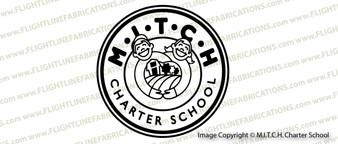 MITCH Charter School Logo Vinyl Sticker Decal