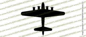 WWII Bomber B-17F Flying Fortress Memphis Belle Top Vinyl Die-Cut Sticker / Decal VSB17T