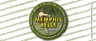 The Memphis Belle: A Story of a Flying Fortress DVD Sticker