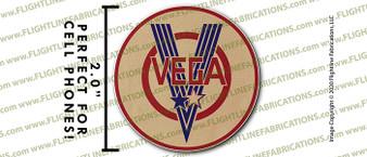 """WWII Vega B-17 Flying Fortress Factory 2"""" Full Color Printer Vinyl Sticker"""