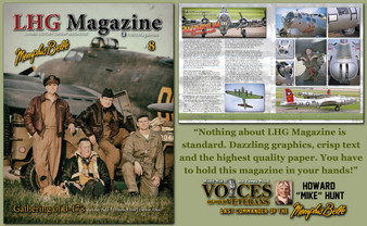 WWII LHG Magazine Issue 8: Gathering of B-17's at Grimes Field in Urbana, Ohio