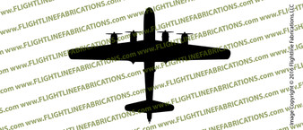 Boeing B-29 Superfortress WWII Bomber Top Vinyl Die-Cut Sticker / Decal VSB29T