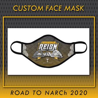 Oregon Rollin' Reign Custom Face Mask (ADULT)