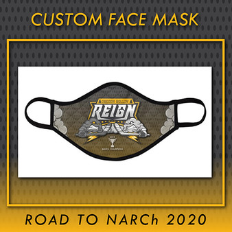 Oregon Rollin' Reign Custom Face Mask (YOUTH)
