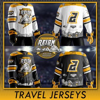 ORR Travel Selects Jersey Order (8U/10U/12U/14U/16u) (non-refundable)
