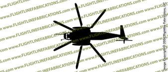 Sikorsky MH-53E Sea Dragon TOP Vinyl Die-Cut Sticker / Decal VSTCH53E
