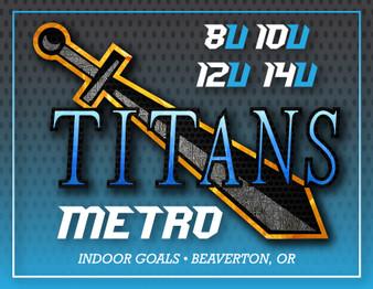 Titans Metro Roller Hockey - Session Two (June) - 2021 - Indoor Goals