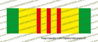 Vietnam Service Ribbon Bumper Sticker Printed Vinyl SRVSR1