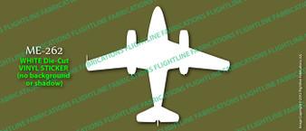 Legend Flyers Messerschmitt Me 262 Schwalbe TOP Vinyl Die-Cut Sticker / Decal LFMET
