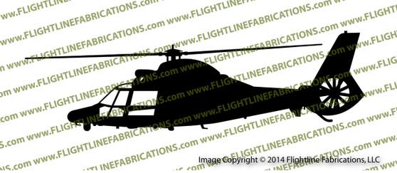 Eurocopter HH-65 Dolphin Vinyl Die-Cut Sticker / Decal VSPHH65C
