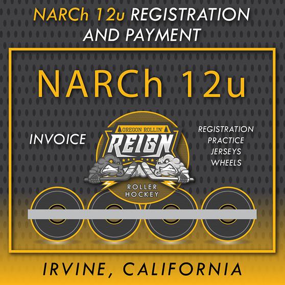 NARCh 12u Returning PLAYER/GOALIE ORR Registration (non-refundable)