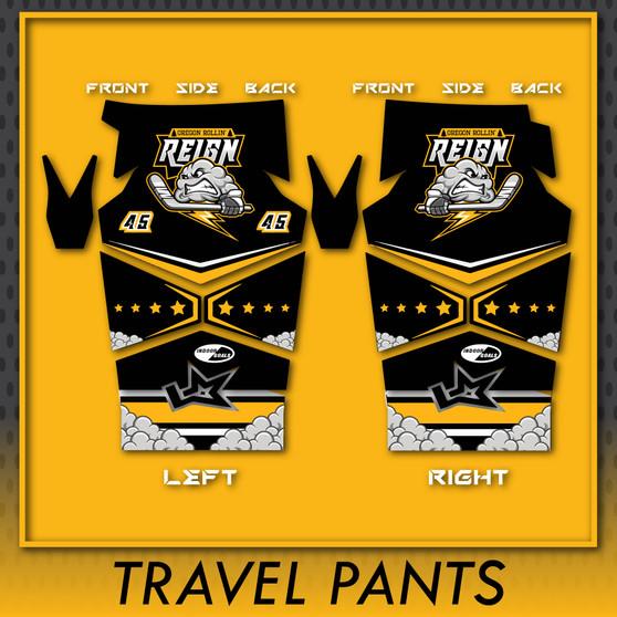Oregon Rollin' Reign Travel Select Player PANTS (non-refundable)