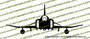 F-4 CD Phantom II Front Vinyl Die-Cut Sticker / Decal VSFF4CD