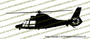 Eurocopter HH-65 Dolphin Vinyl Die-Cut Sticker / Decal VSPHH65C