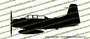 A-1E AD5 Skyraider Profile Vinyl Die-Cut Sticker / Decal VSPA1E