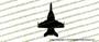 McDonnell Douglas F-18e Super Hornet TOP Vinyl Die-Cut Sticker / Decal VSTF18E