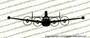 Lockheed Constellation EC-121k FRONT Vinyl Die-Cut Sticker / Decal VSFEC121K