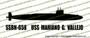 SSN-658 USS Mariano G. Vallejo US Navy Benjamin Franklin Class Submarine Vinyl Die-Cut Sticker / Decal VSSSN658