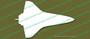 NASA Space Shuttle Top Vinyl Die-Cut Sticker / Decal VSTSPT