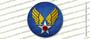 WWII U.S. Army Air Corps USAAC 3 INCH Circle