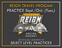 REIGN TRAVEL PRACTICES - Sunday Nights (Sept./Oct./Nov.)