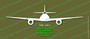 Legend Flyers Messerschmitt Me 262 Schwalbe FRONT Vinyl Die-Cut Sticker / Decal LFMEF