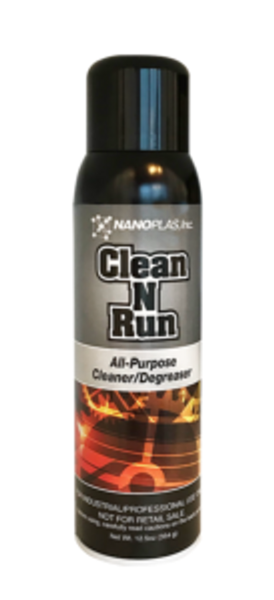 Clean-N-Run™ is a powerful cleaning formula that removes contaminants down to the virgin metal. Superior, non-chlorinated, cleaning agents allow for streak free cleaning on warm molds. Controlled evaporation gives users more cleaning time in the press and in the tool room.