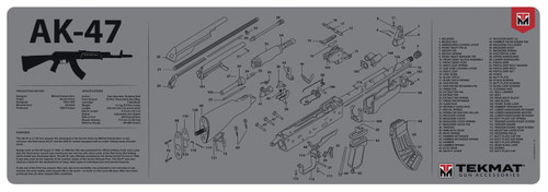 AK-47 Gun Cleaning and Parts Mat