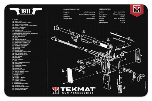 Ar 15 And M 16 Gun Cleaning And Parts Mat