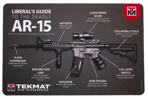 Liberal S Guide To The Ar 15 Gun Cleaning Mat