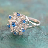 vintage-ring-sapphire-swarovski-crystals-pinfire-opals-white-gold-plated