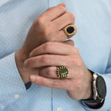vintage-mens-ring-genuine-jade-antiqued-yellow-gold-plated