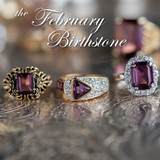 The Beauty of the Amethyst Gemstone in Vintage Jewelry