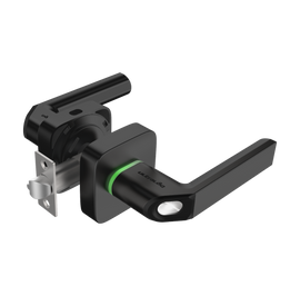 Fingerprint & Key Fob Smart Lock-Black - LTK-UL1-BK