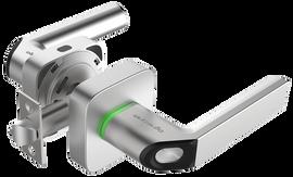 Fingerprint & Key Fob Smart Lock-Silver - LTK-UL1-SN