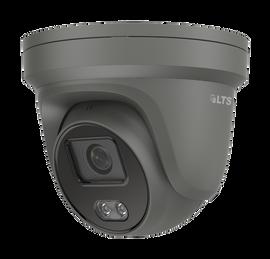 4 MP Color247 4mm Fixed Lens Turret Network Camera Black