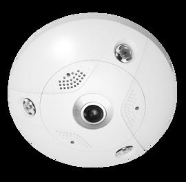 Platinum Fisheye IP Camera 6MP - Indoor