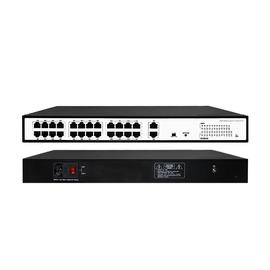 24 Port 10/100Mbps PoE Switch+2 Gigabit Uplink Ports - POE-SW2402E