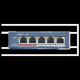 4 PoE Port Switch with 1 Port Uplink - POE-SW401N